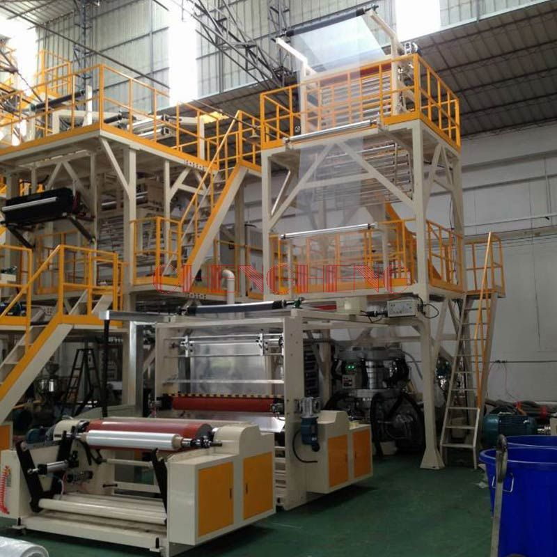 CHSJ-DL Series AB Double-Layer Film Blowing Machine