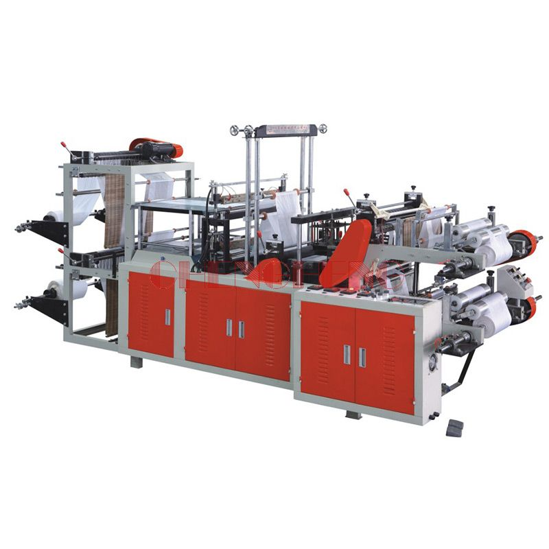CH-SHTR Rolling t-Shirt Bag Making Machine