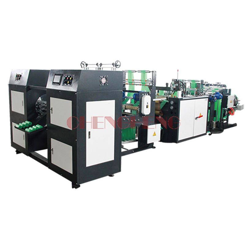 CH-SR-2 Double Line Automatic  Rolling Bag Making Machine(Coreless)