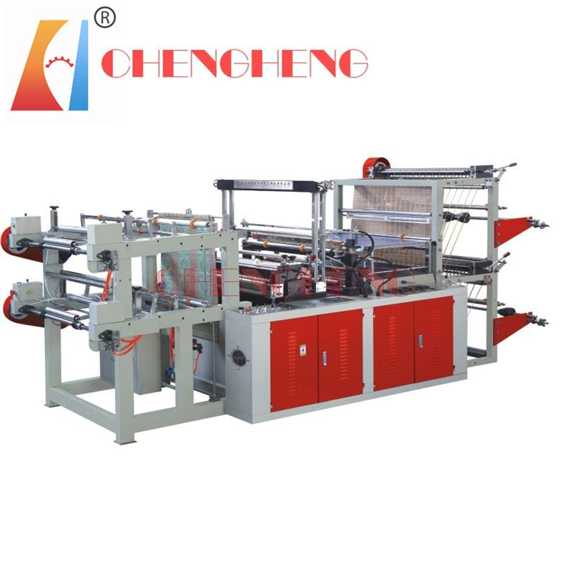CH-SFR Semi-Automatic Rolling Flat Bag Making Machine