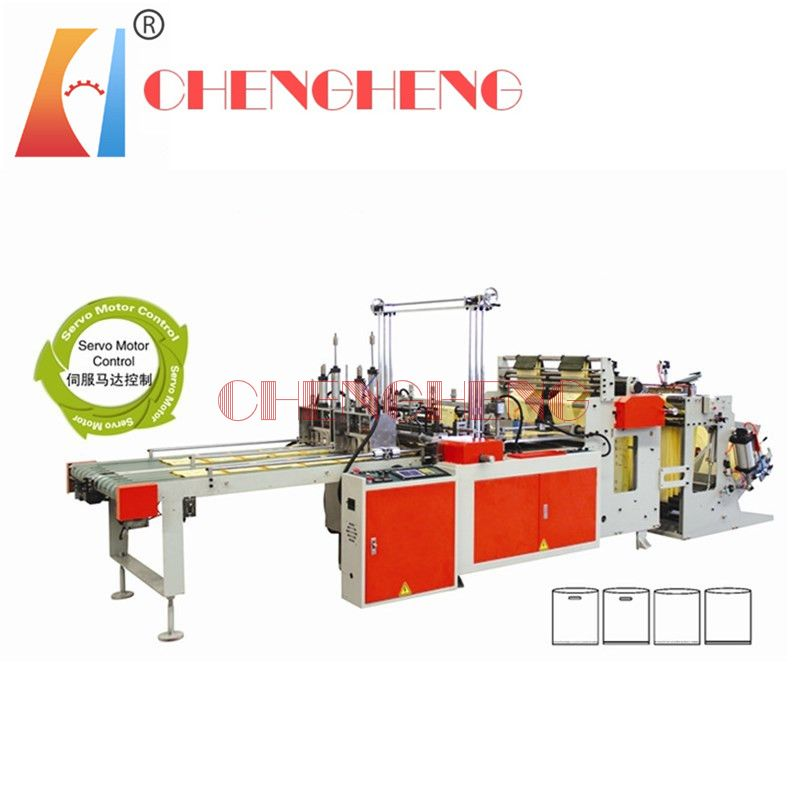 CH-BCD full automatic  bottom sealing bag  making machine dual channel