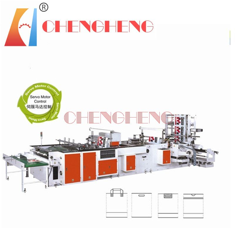 CH-SSH Side sealing handle bag making machine