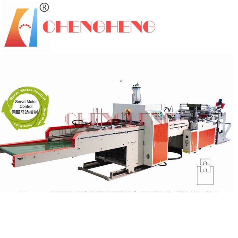 CH-ST-1 Full Automatic T-shirt Bag making machine Single